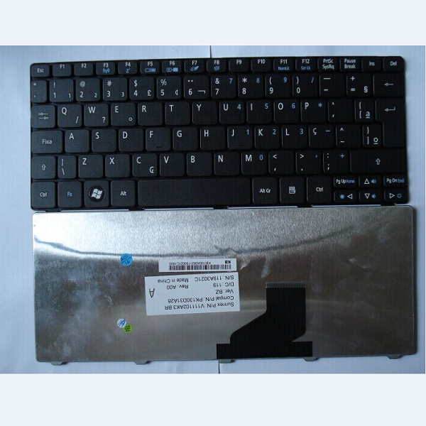 Keyboard Acer Aspire One 532 D250 D260 532H 521 533 BR