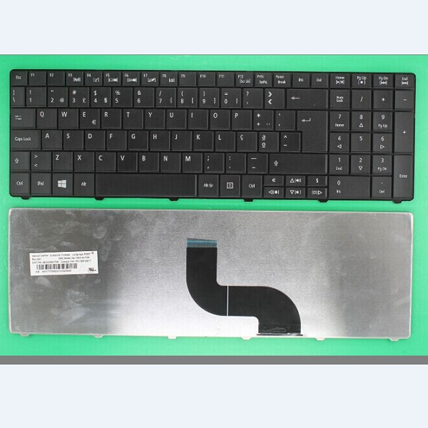 Keyboard ACER TM8571 E1-521 E1-531 E1-531G E1-571 E1-571G PT black