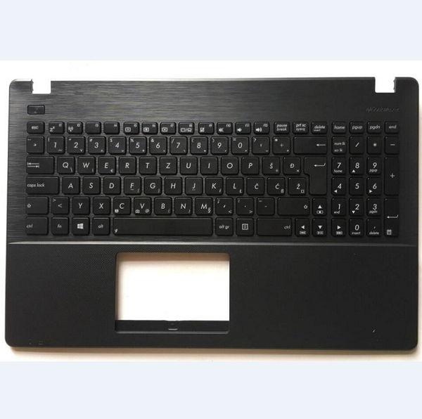 Keyboard Asus X551 X551CA X551MA Croatian Slovenian black with Topcase