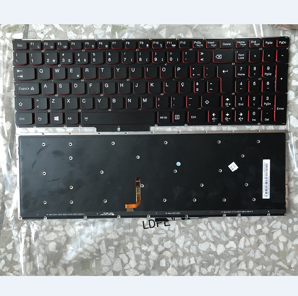Keyboard Lenovo Y50-70 Y70-70 PO Red backlit